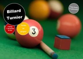 Billiard Turnier
